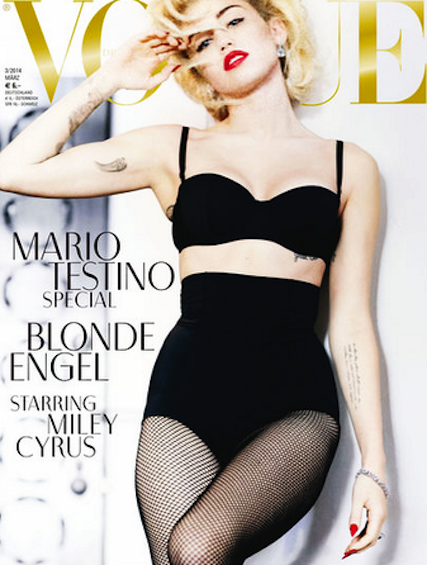 Miley Cyrus Vogue Cover