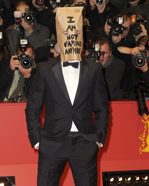 Shia LaBeouf, Bag on Head