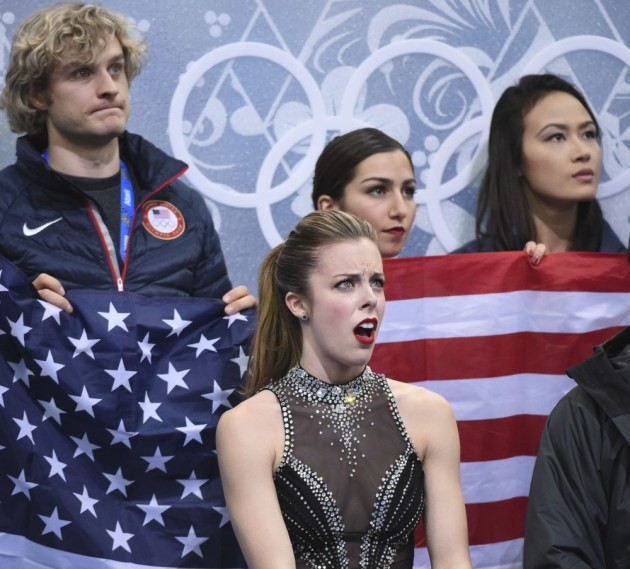 Ashley Wagner Is Not Impressed