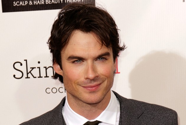 Ian. Somerhalder. Is. Hot.
