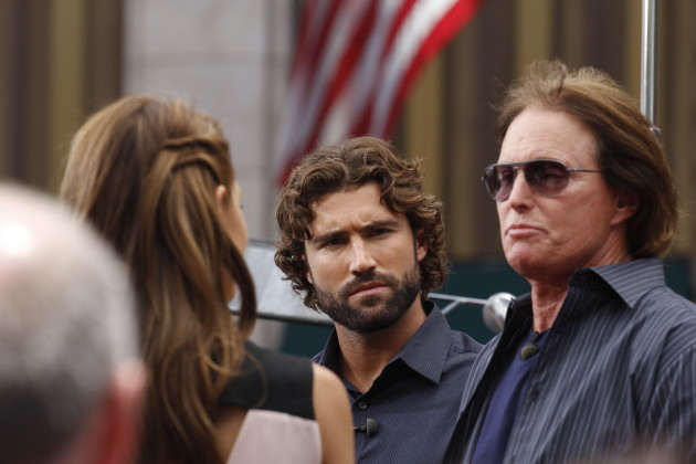 Bruce Jenner with Brody