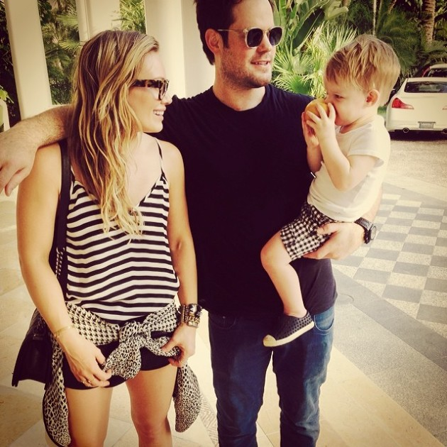 Hilary Duff Family
