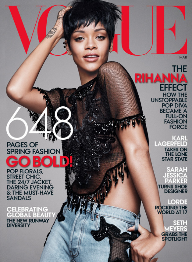 Rihanna Vogue Cover 2014