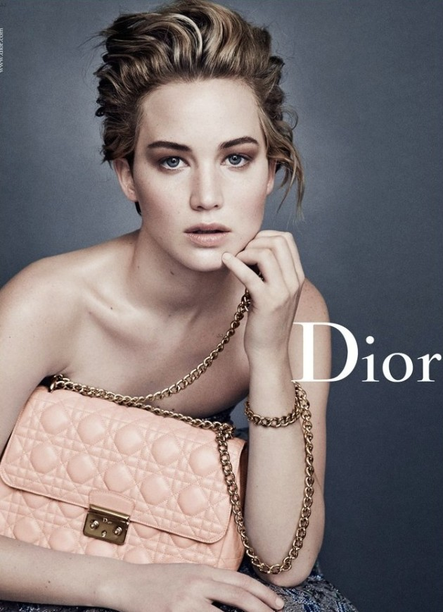 Jennifer Lawrence: Topless for Dior