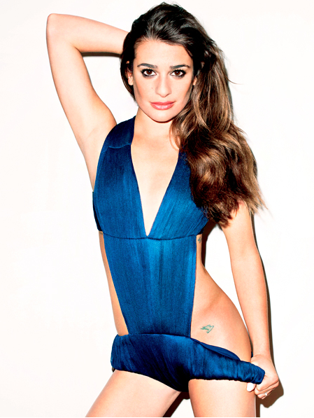 Lea Michele for Terry Richardson