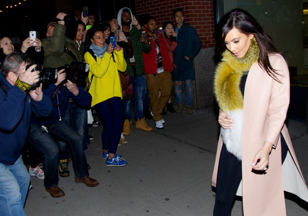 Kim Kardashian in SoHo