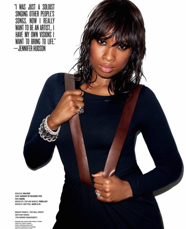 Jennifer Hudson Magazine Photo