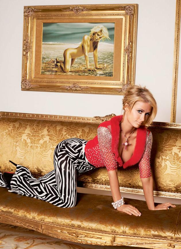 Double the Paris Hilton