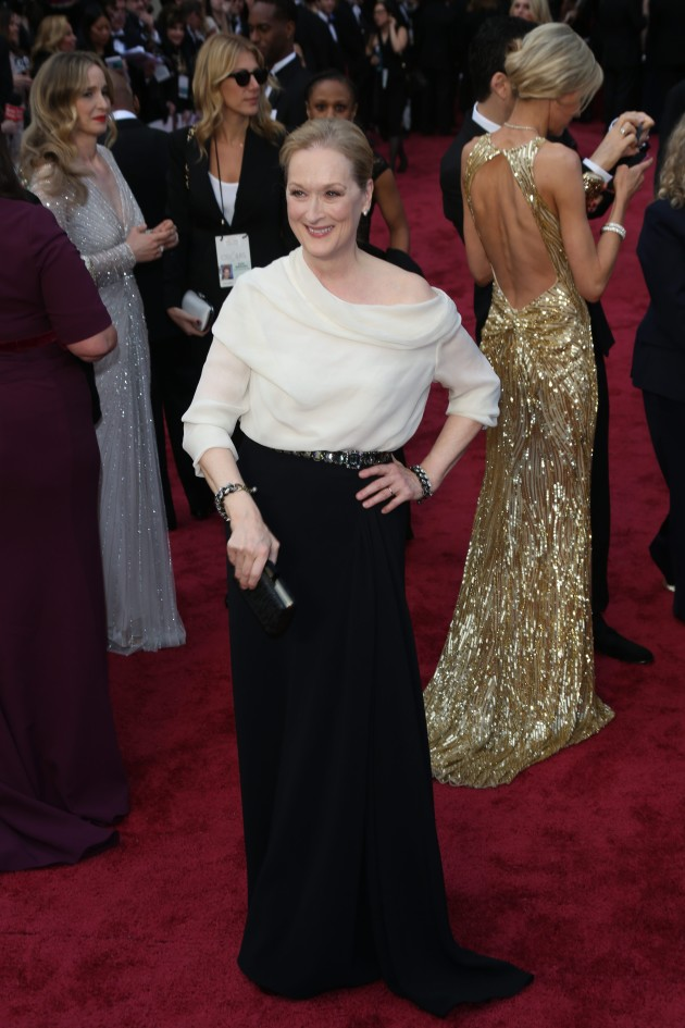 Meryl Streep at the Academy Awards