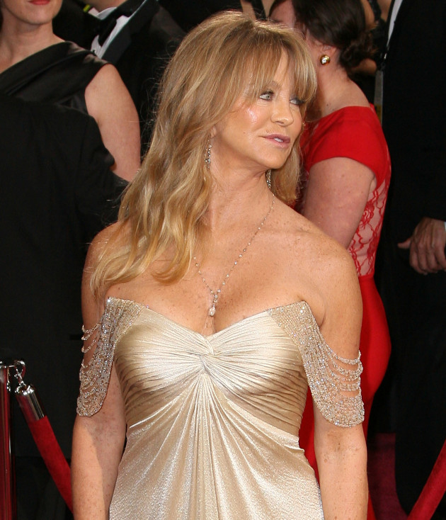 Goldie Hawn at the Oscars