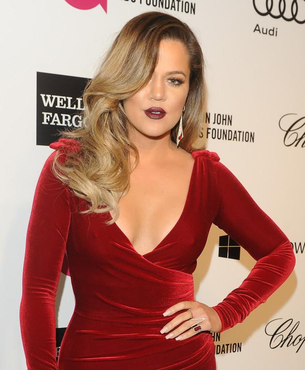 Khloe Kardashian Celebrates Oscar