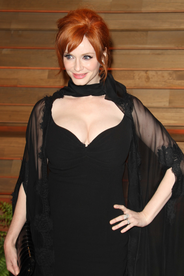 Christina Hendricks with Cleavage