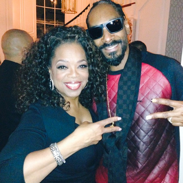 Oprah and Snoop