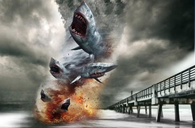 A Sharknado!