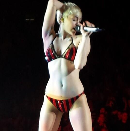 Miley Cyrus in Her Underwear