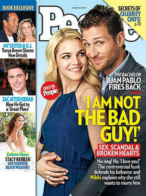 Juan Pablo and Nikki Ferrell Cover