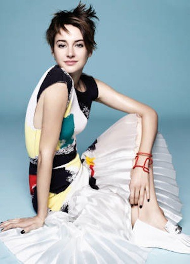 Shailene Woodley Marie Claire Photo