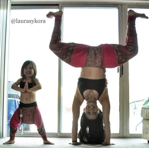 Dueling Yoga Poses