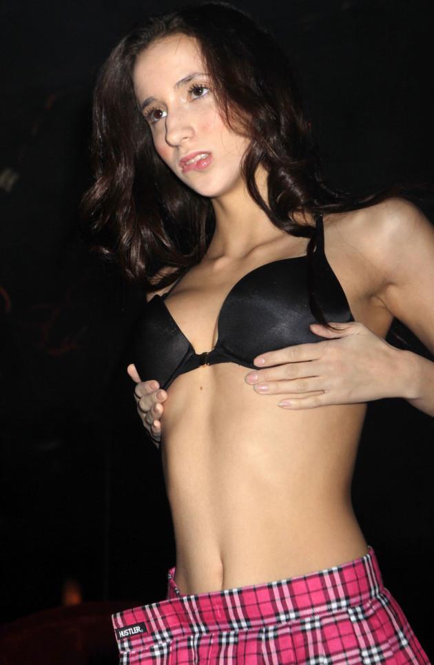 Miriam Weeks Strip Club Pic