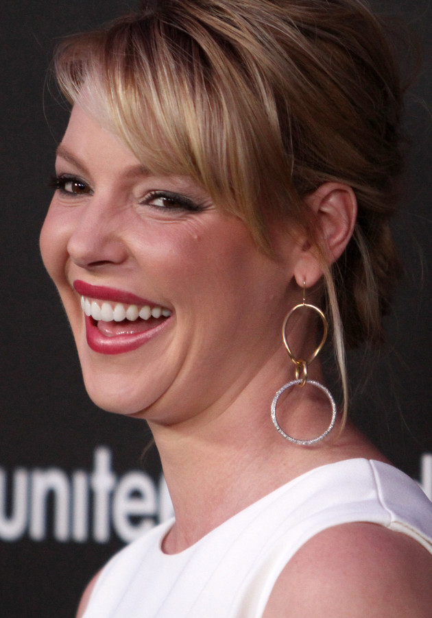 Katherine Heigl Laughs
