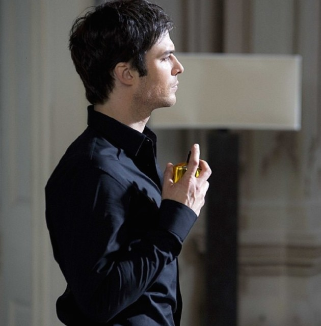 Ian Somerhalder Fragrance Ad