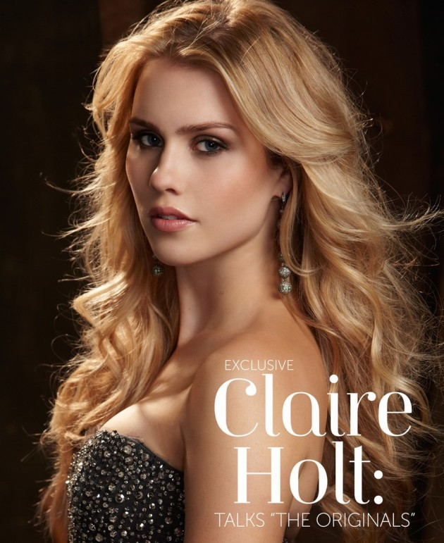 Claire Holt for Glamoholic