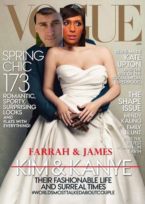 Farrah Abraham and James Deen Vogue Cover