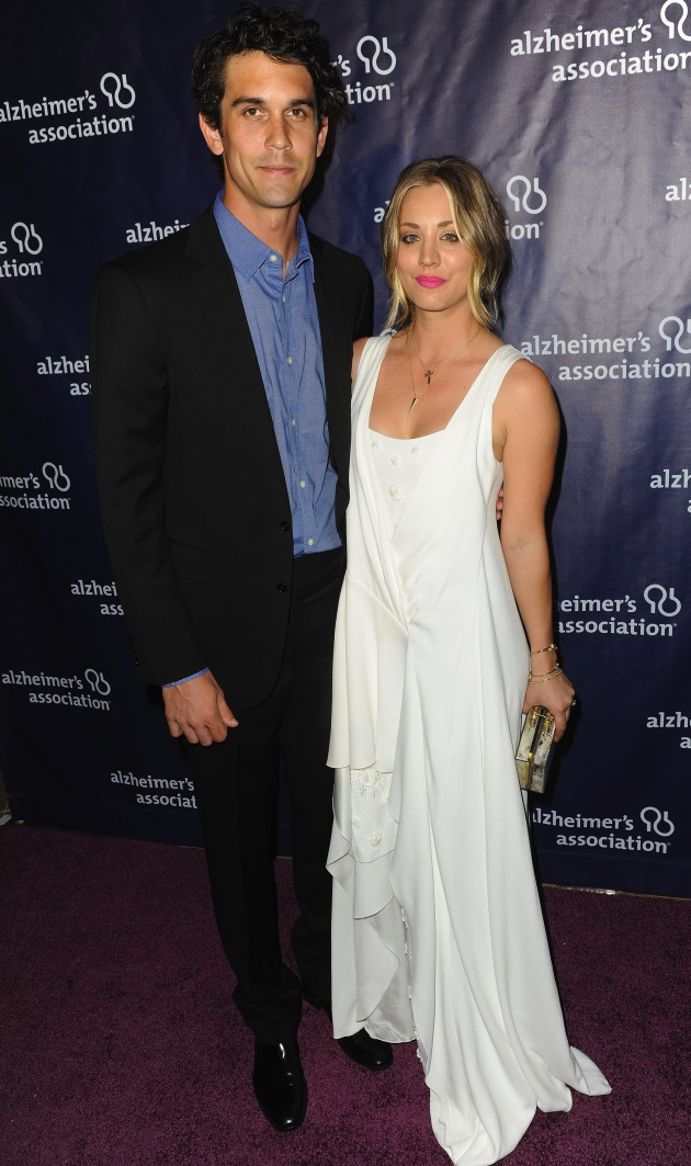 Kaley Cuoco and Husband