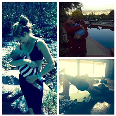 Teresa Palmer Breastfeeding