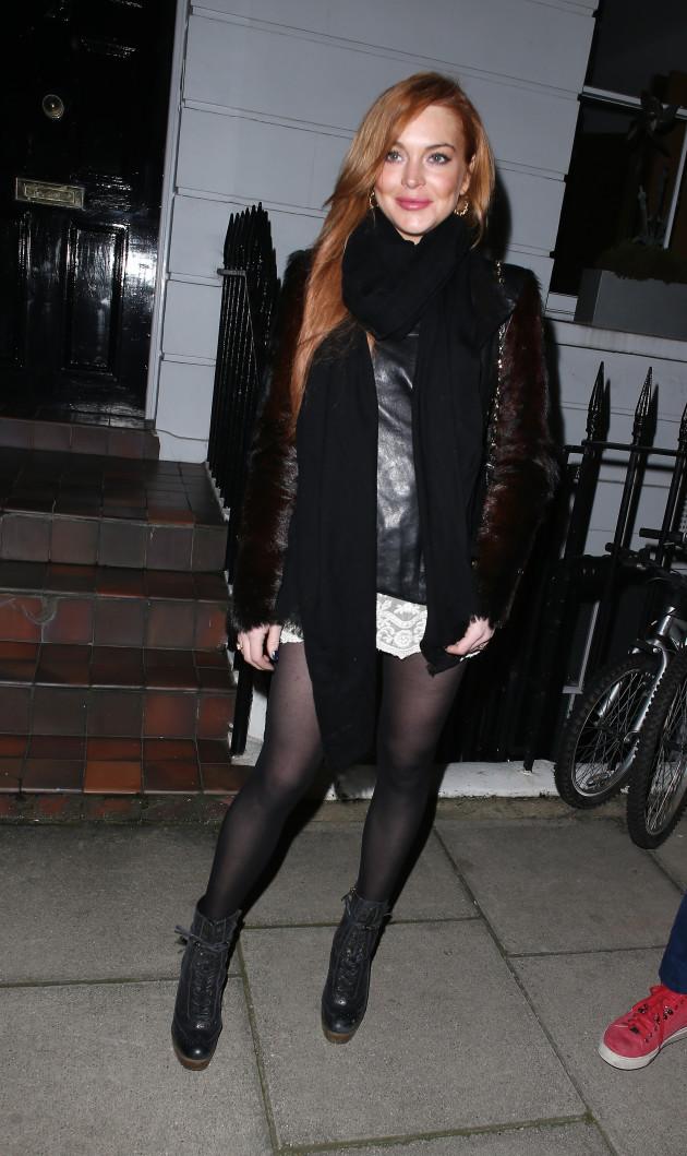 Lindsay Lohan Paparazzi Image