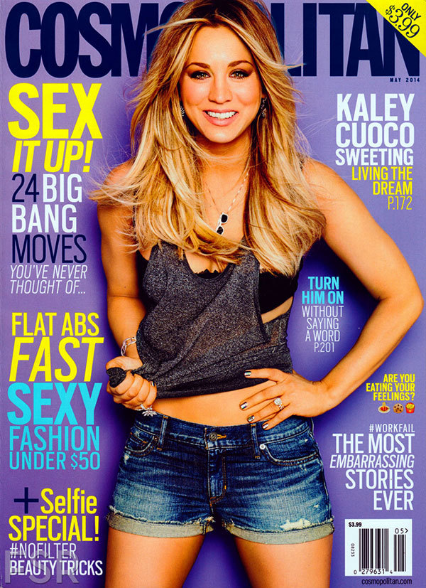 Kaley Cuoco: Cosmopolitan Cover