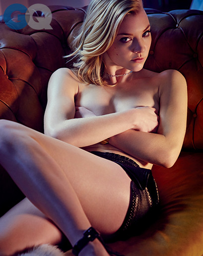 Natalie Dormer Topless Photo