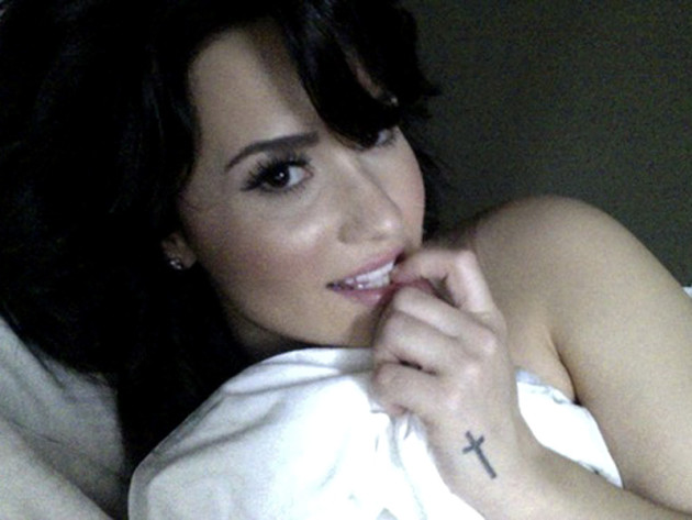 Seductive Demi Lovato
