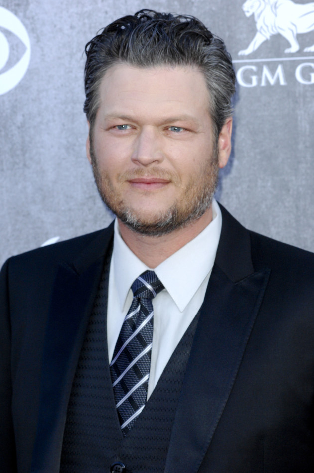 Blake Shelton at the ACMs