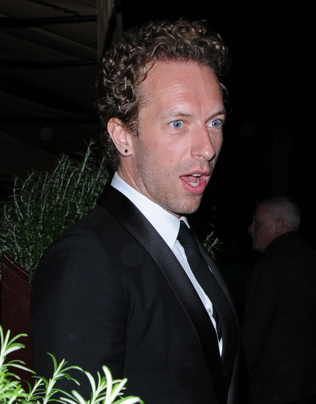 Chris Martin: Shocked!
