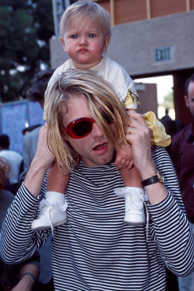 Kurt Cobain Daughter Photo