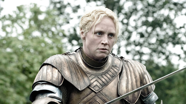 Gwendoline Christie as Brienne Photo