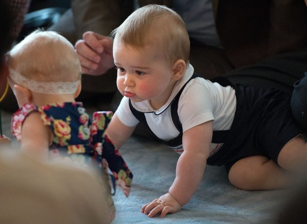 Prince George Play Date Photo