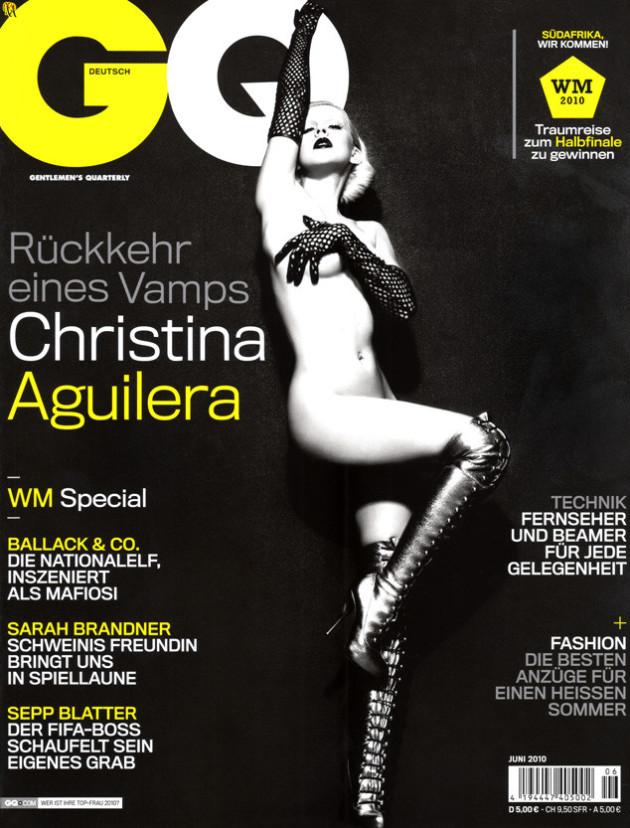 Christina Aguilera: Naked for GQ