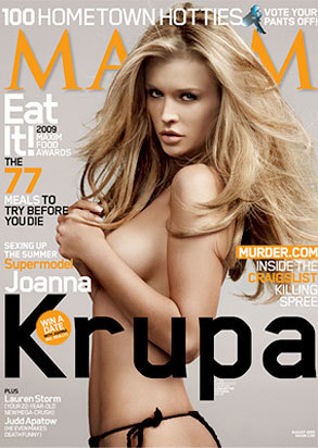 Joanna Krupa: Nude for Maxim