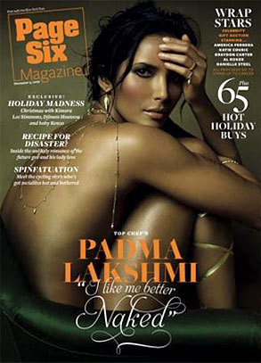Padma Laksmi: Nude for Page Six
