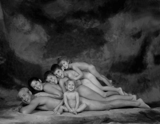 Naked Family Portrait