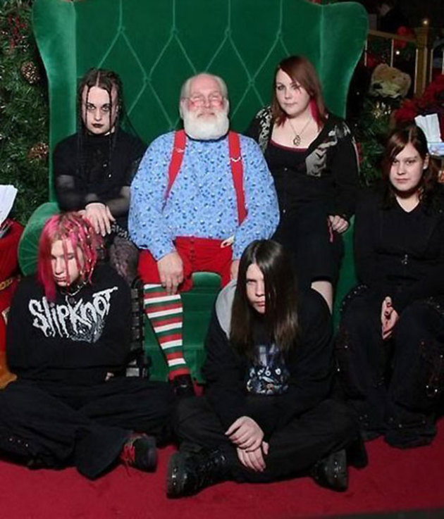 Goth and Claus