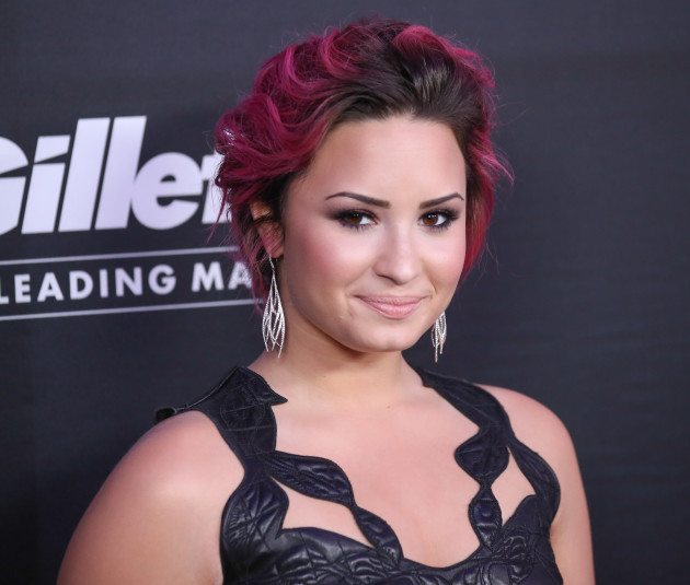 Demi Lovato with Dyed Hair
