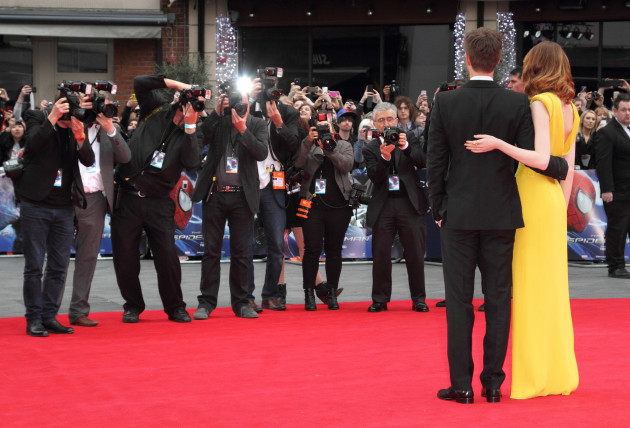 Emma Stone and Andrew Garfield London Red Carpet