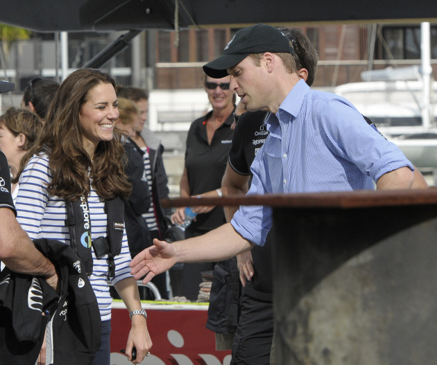 Friendly Rivalry Between Duchess Kate Middleton and Prince William