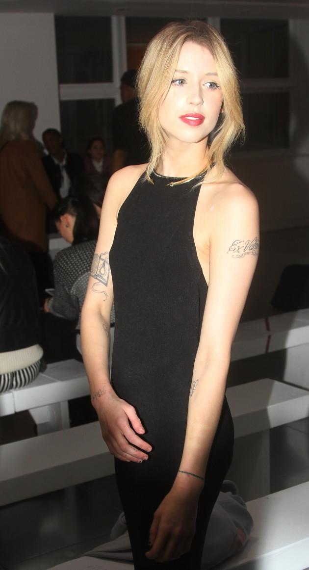 Peaches Geldof Black Dress Photo