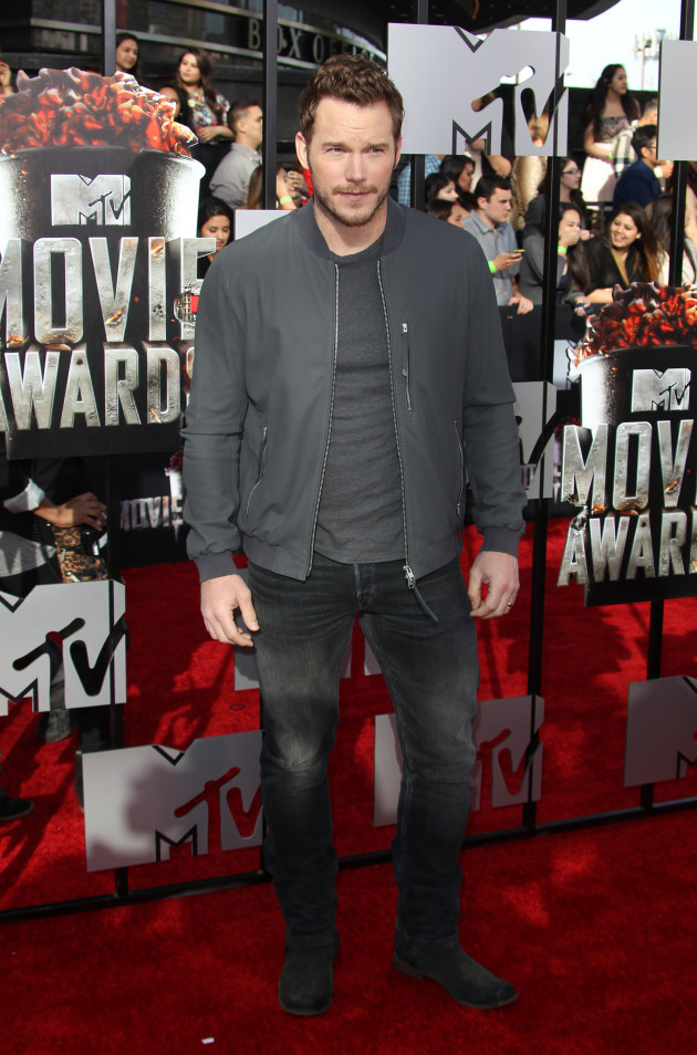 Chris Pratt at MTV Movie Awards