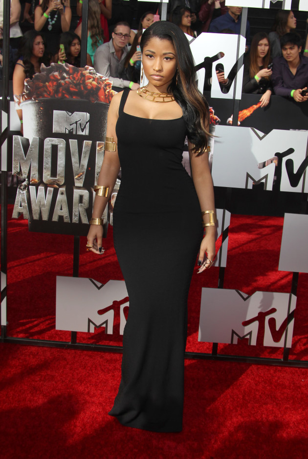 Nicki Minaj at MTV Movie Awards