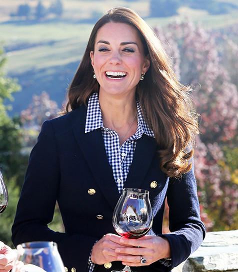 Kate with Wine